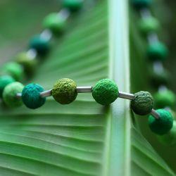 Collier FINE BALLERINA, grün