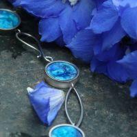 Collier SARAI, blau